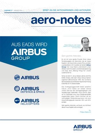 Aero-notes 37 (Januar 2014)