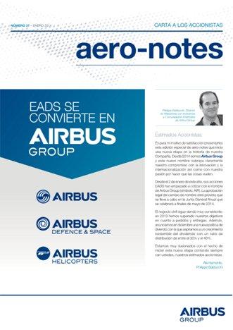 Aero-notes 37 (Enero 2014)