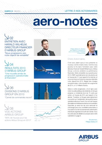 Aero-notes 38 (Mai 2014)
