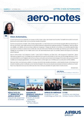 Aero-notes 41 (Automne 2015)