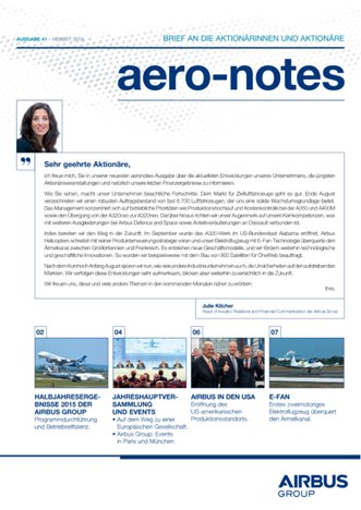 Aero-notes 41 (Herbst 2015)