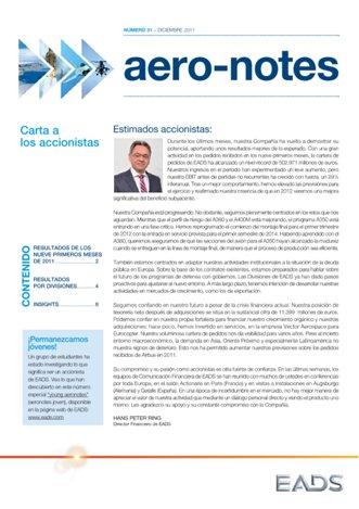 Aero-notes 31 (Diciembre 2011)