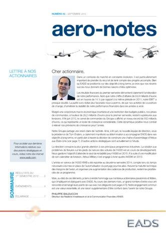 Aero-notes 33 (Septembre 2012)
