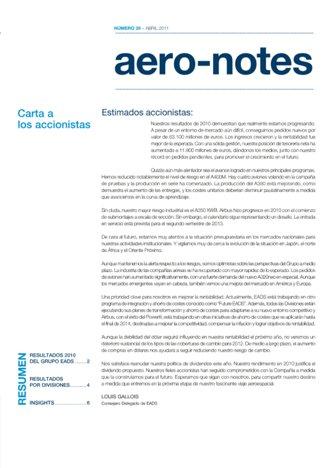 Aero-notes 29 (Abril 2011)