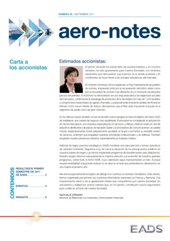 Aero-notes 30 (Septiembre 2011)