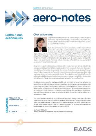Aero-notes 30 (Septembre 2011)