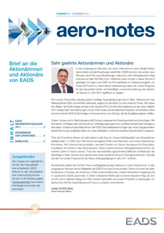 Aero-notes 31 (Dezember 2011)