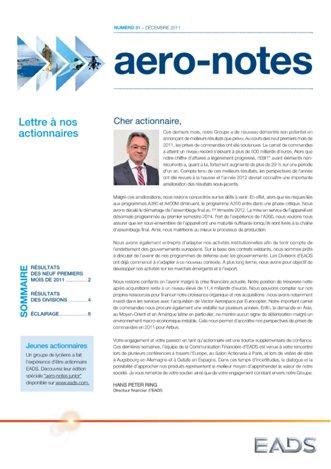 Aero-notes 31 (Décembre 2011)