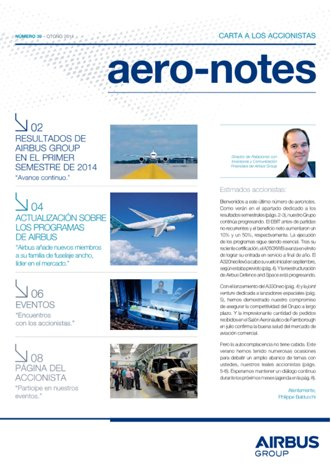 Aero-notes 39 (Otoño 2014)