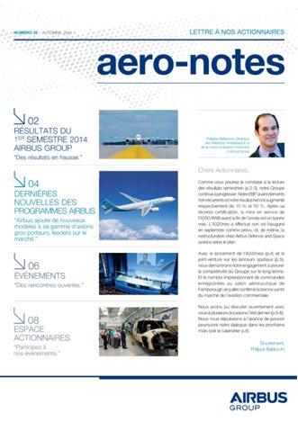 Aero-notes 39 (Automne 2014)