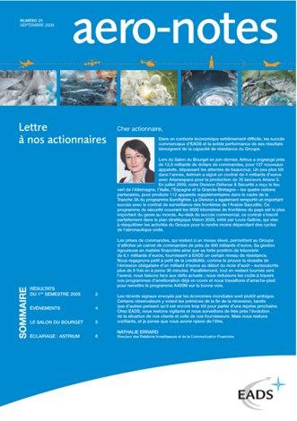 Aero-notes 25 (Septembre 2009)