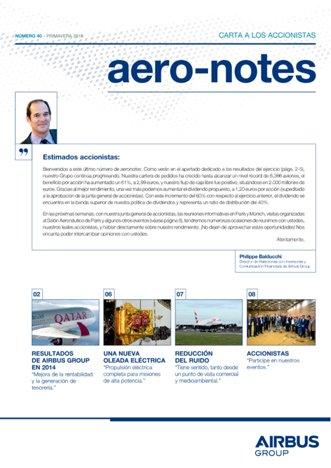 Aero-notes 40 (Primavera 2015)