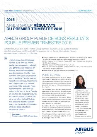 Aero-notes 40 (Résultats Q1 2015)