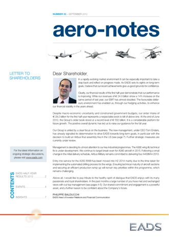 Aero-notes 33 (September 2012)