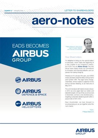 Aero-notes 37 (January 2014)