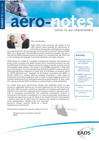 Aero-notes 10 (March 2004)