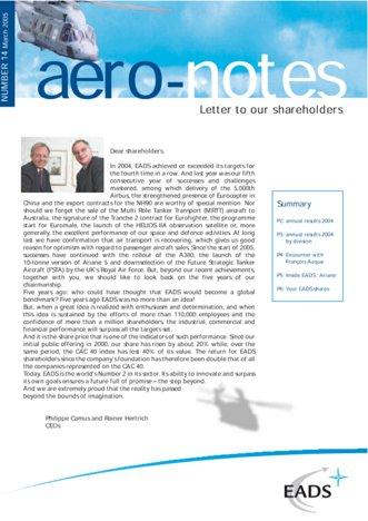 Aero-notes 14 (March 2005)