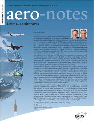 Aero-notes 07 (Mai 2003)