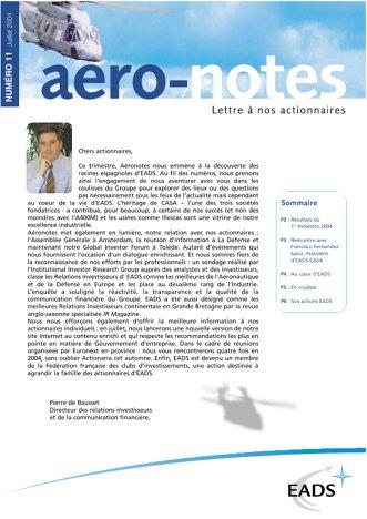 Aero-notes 11 (Juillet 2004)