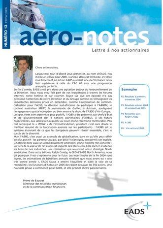 Aero-notes 13 (Février 2005)