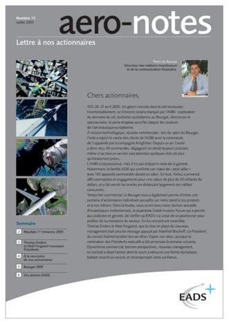 Aero-notes 15 (Juillet 2005)