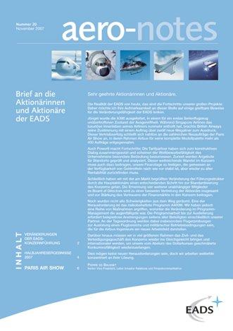 Aero-notes 20 (November 2007)