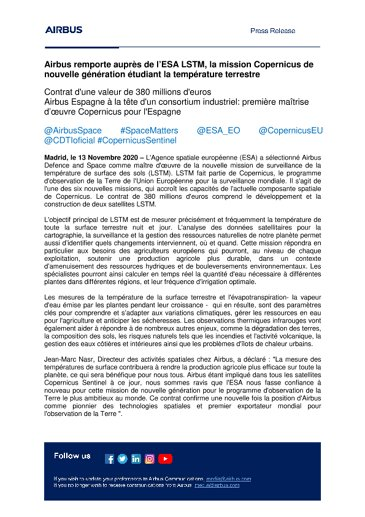FR-Airbus-SpS-Press-Release-Airbus wins ESAs LSTM-mission