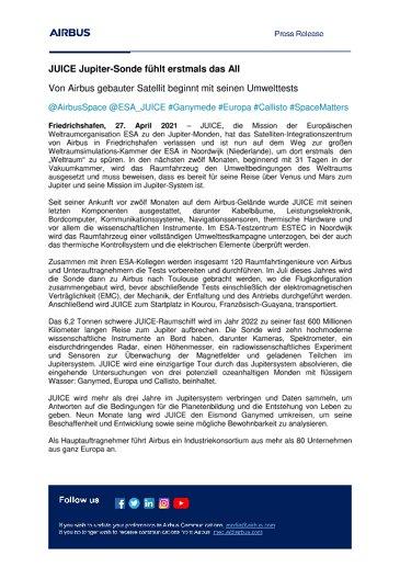 DE-Airbus-SpS-Press-Release-JUICE-Jupiter-probes-first-taste-of-space