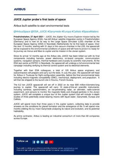 EN-Airbus-SpS-Press-Release-JUICE-Jupiter-probes-first-taste-of-space
