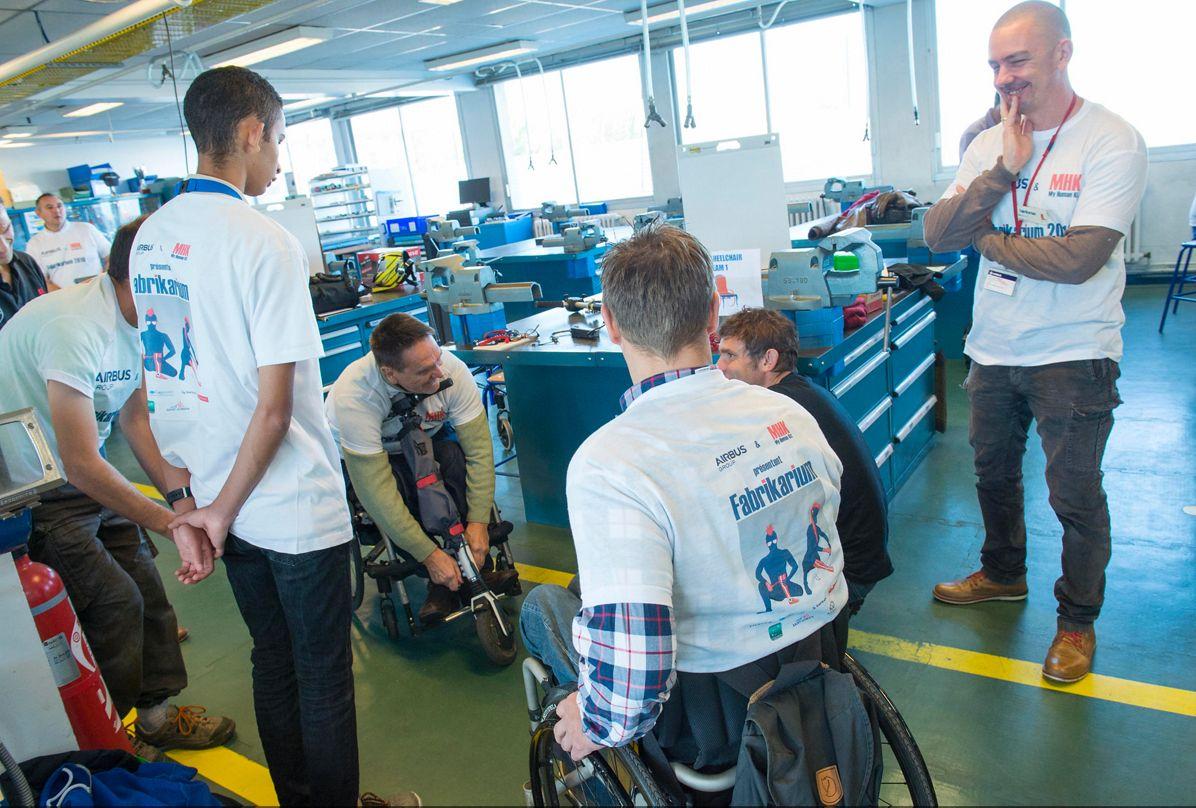 Fabrikarium: 'Open Wheelchair' Team