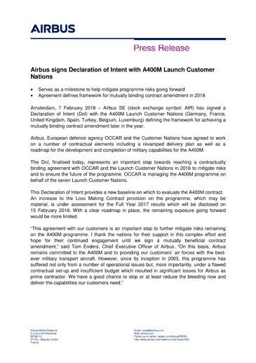EN_Press Release - Airbus A400M DOI