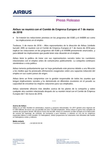 ES-Press-Release-A380-A400-Rate-Reductions-EWC-Meeting