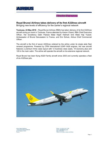 E_Royal Brunei Takes delivery of its first A320neo.doc