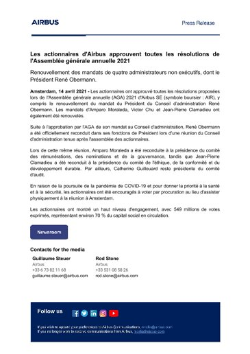 FR-Airbus-shareholders-approve-all-AGM-2021-resolutions