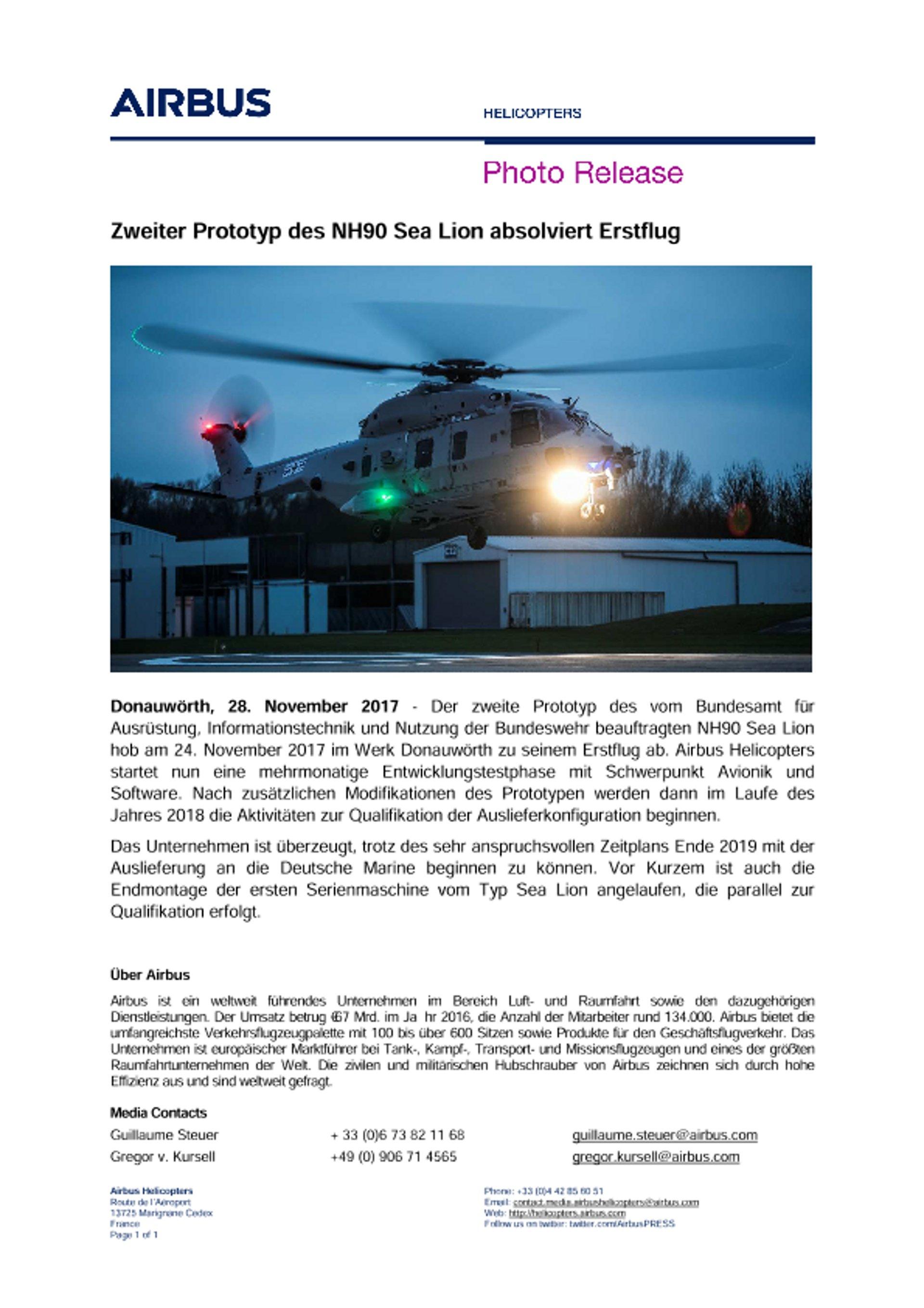Photo-Release-Maiden-Flight_2nd_Prototype-Sea-Lion_DE
