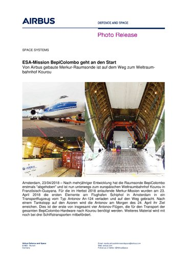 Photo Release SPACE SYSTEMS 23042018-DE