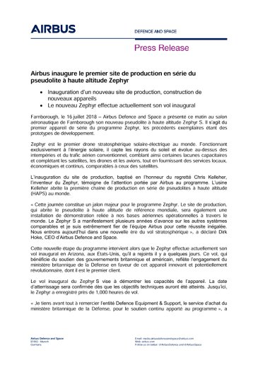 Press Release MILITARY AIRCRAFT 16072018 FR