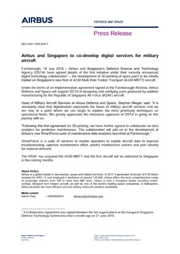 Press Release MILITARY AIRCRAFT 18072018 ENG