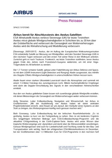 Press Release SPACE SYSTEMS 20012017-DE