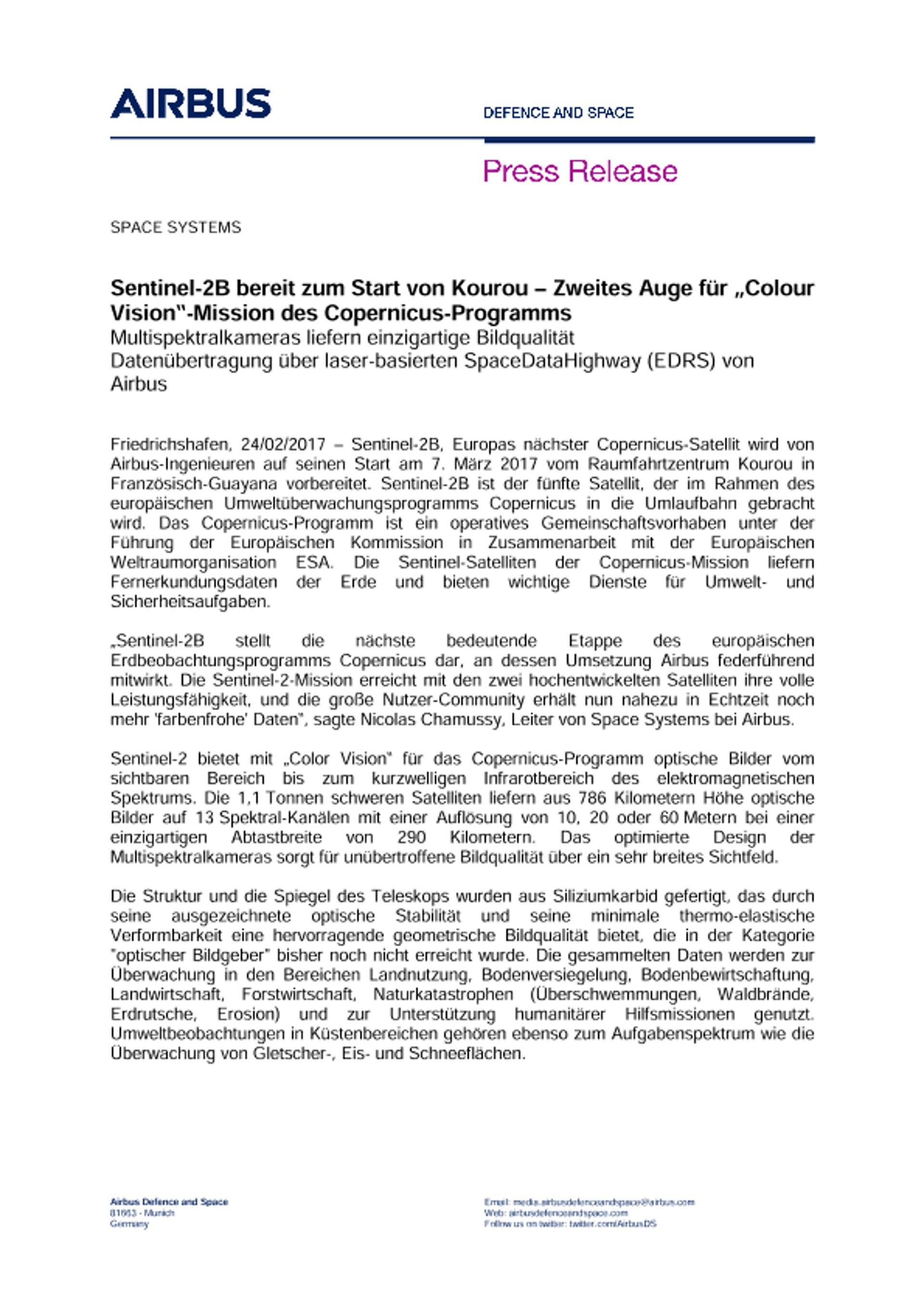 Press Release SPACE SYSTEMS 24022017-DE