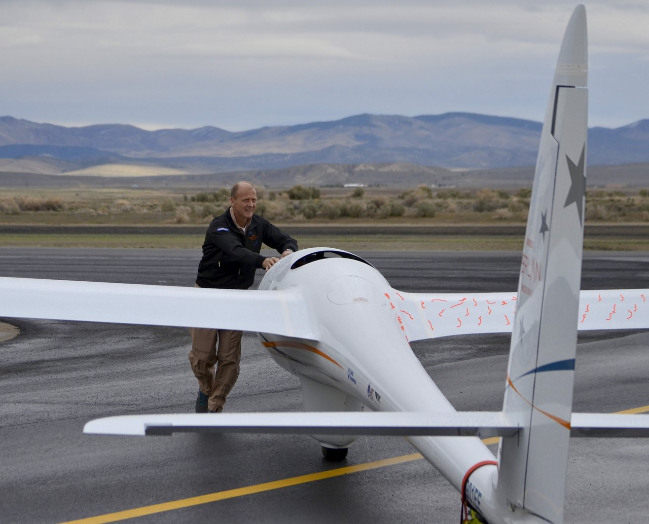Tom Enders Perlan Test Flights