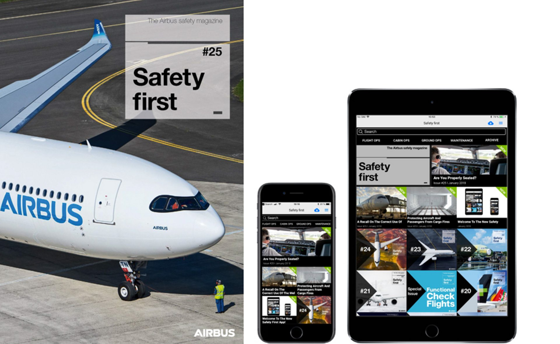 Airbus safety app
