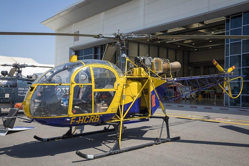 80 ans d'Airbus à Marignane, démo flight & expos statique.