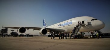 FIDAE 2014 Day 4 – A380 visits 2