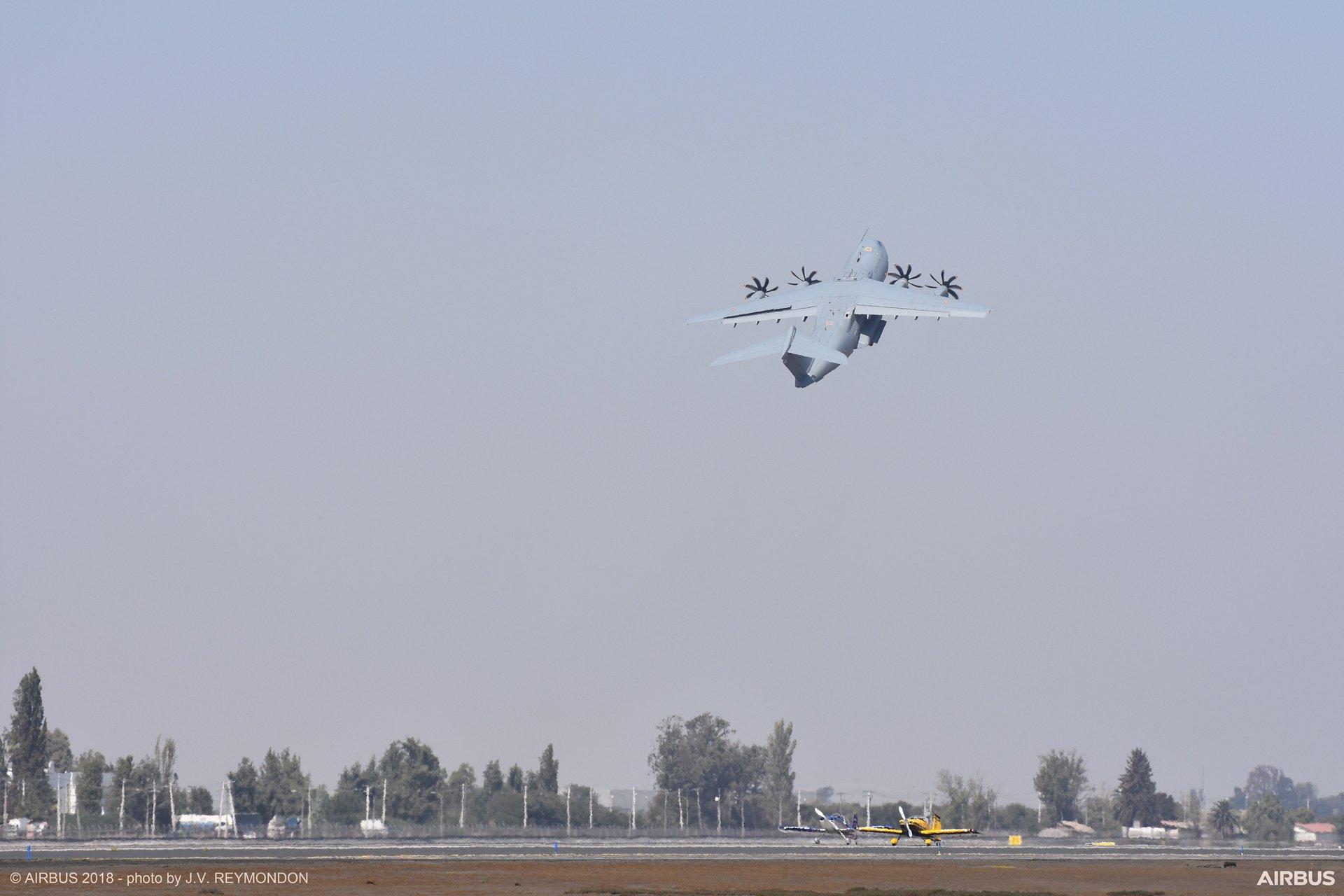 FIDAE air show 2018 - flight demonstration 2