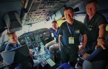 FIDAE 2014 Day 4 – A380 flight crew 1