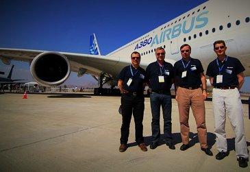 FIDAE 2014 Day 4 – A380 flight crew 2