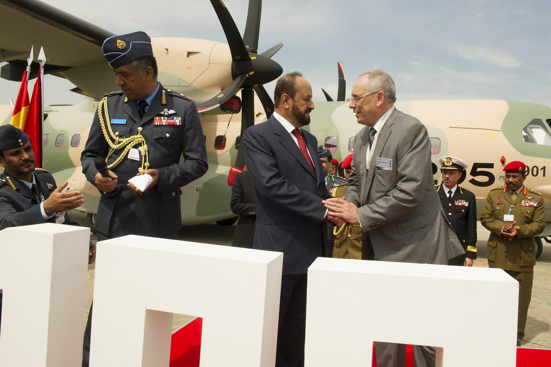 100TH delivery of C295