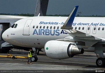 A320-Sharklets On-ground 1