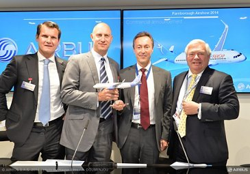 Farnborough 2014 – AerCap A320neo order 3